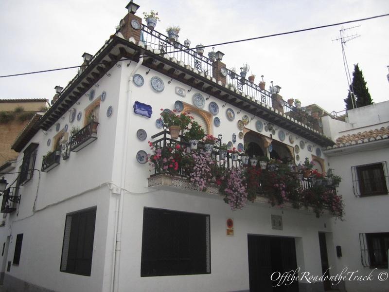 Albaicin'in güzel evlerine güzel bir örnek:)