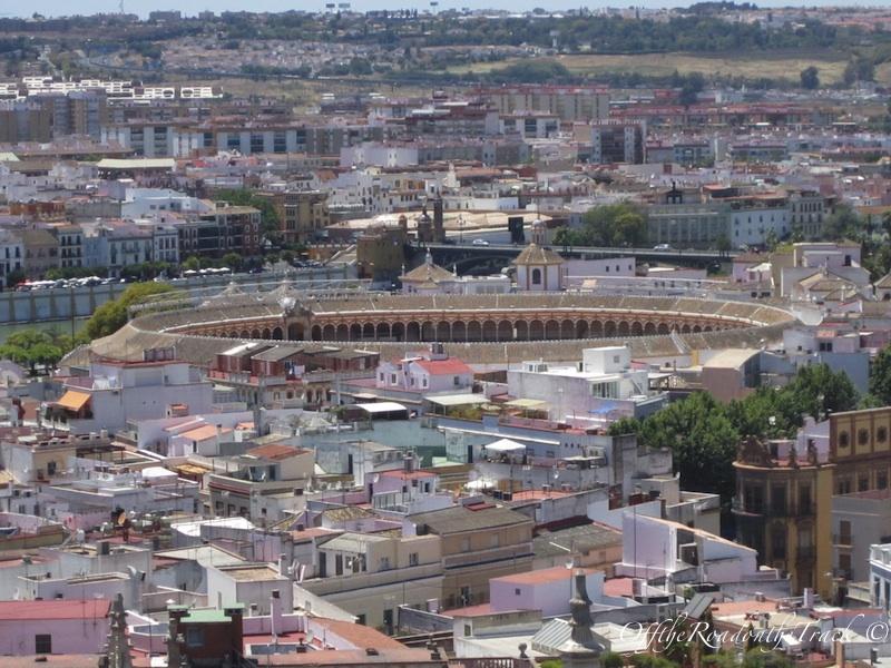 Sevilla sehrinin kusbakisi görüntüsü