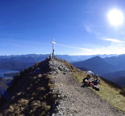 Trekking Turları-1: Jochberg Zirvesi