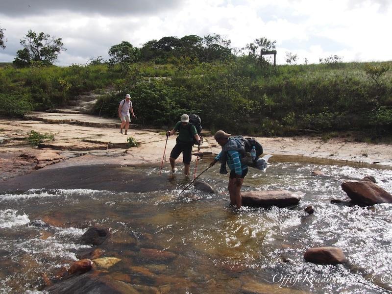Nehri geçerken…