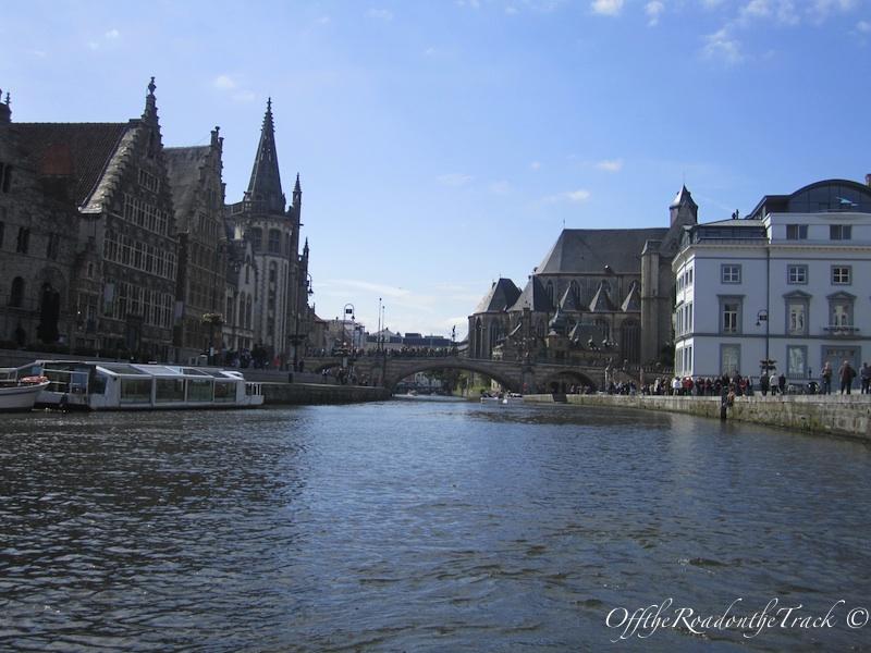Graslei ve Korenlei Gent - Belçika