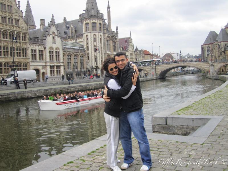 Graslei ve Korenlei Gent – Belçika