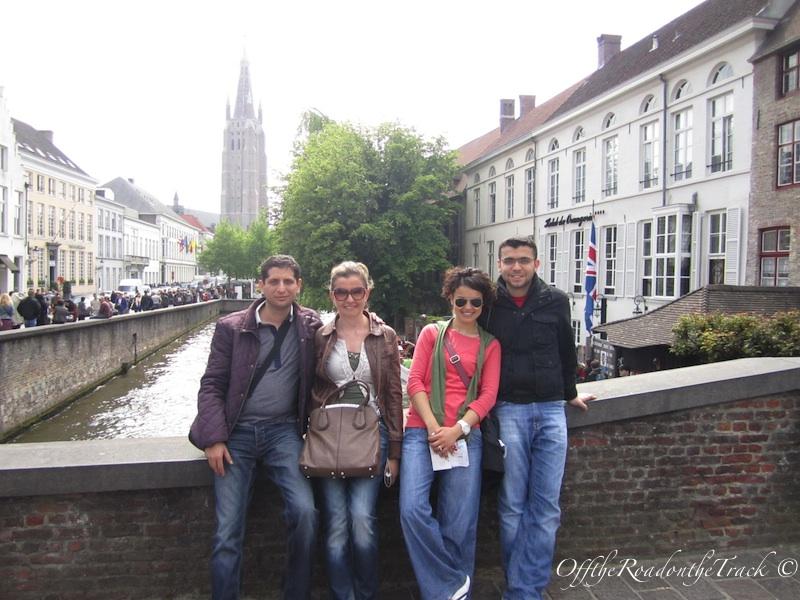 Brugge ve muhteşem dörtlü :))
