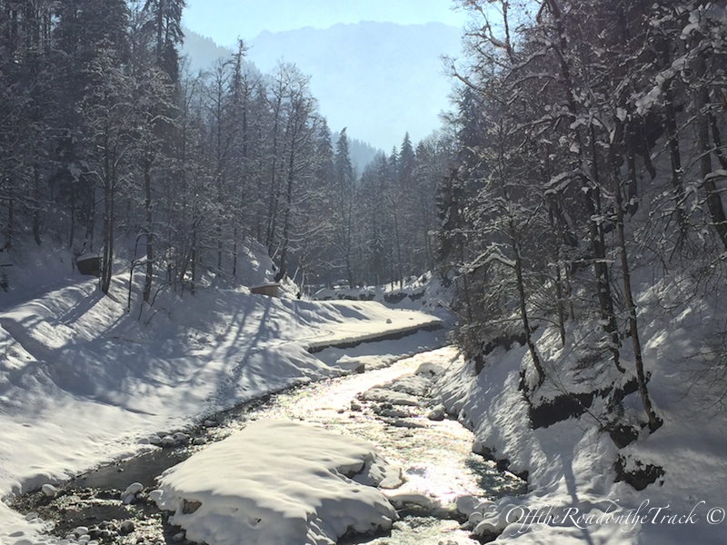 Partnachklamm'ı bir de kışın görmelisiniz