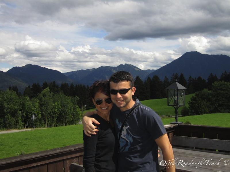 Dağ yürüyüşü sırasında mola verdiğimiz mekandan bir manzara
