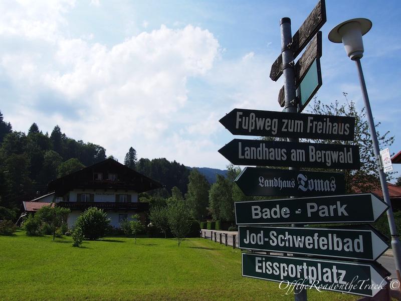 Yemyeşil Bavyera köyleri