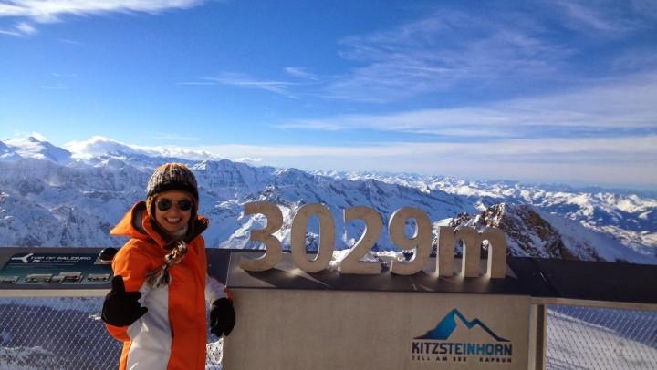 Avusturya'da Kayak Tatil Önerisi: 3029 metre ile Kitzsteinhorn