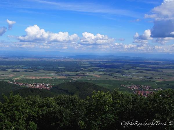 Haut Königsburg manzarası