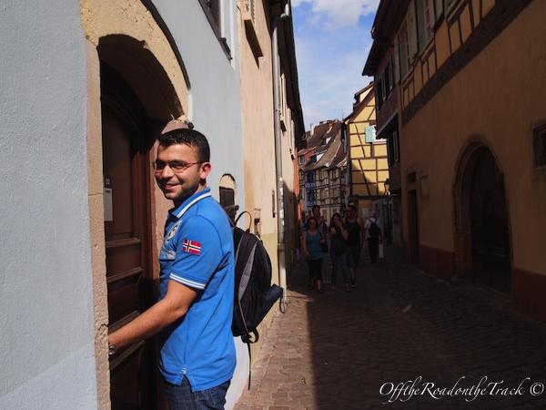 Colmar'daki otelimiz