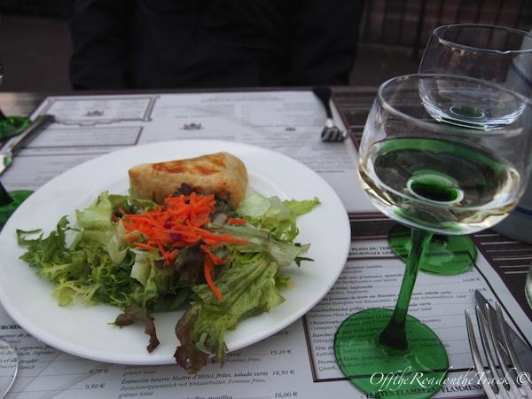Restoran Kuifhus - Başlangıç olarak Münster Peyniri