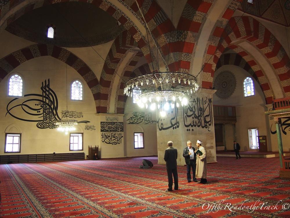 Arkadaki kürsü Hacı Bayram Veli'ye ait