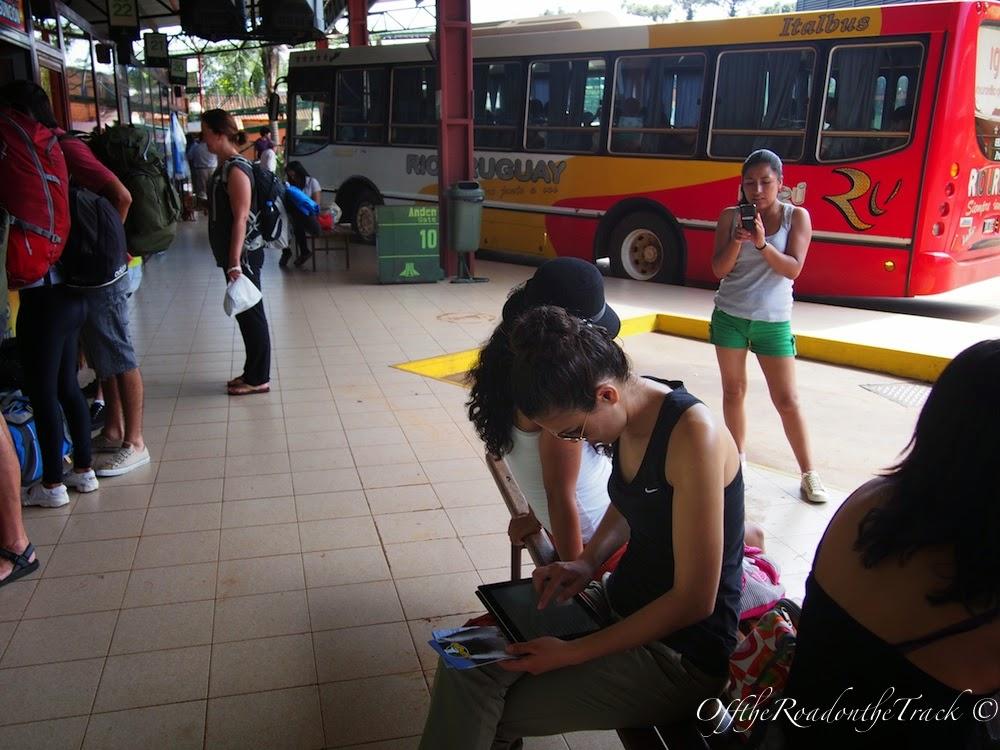 Arjantin'deki otobüs garı