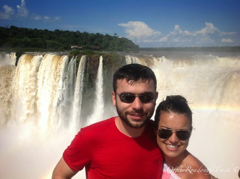 Arjantin . Iguazu Şelaleleri - Şeytan Boğazı