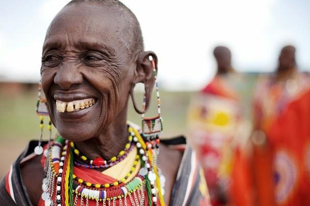 Masai Yerlileri - Fotoğraf alıntıdır