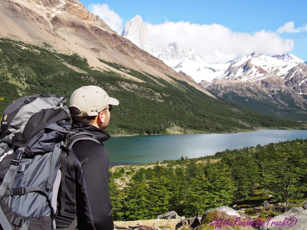 Arjantin Patagonyası - Fitz Roy Masiflerine bir bakış