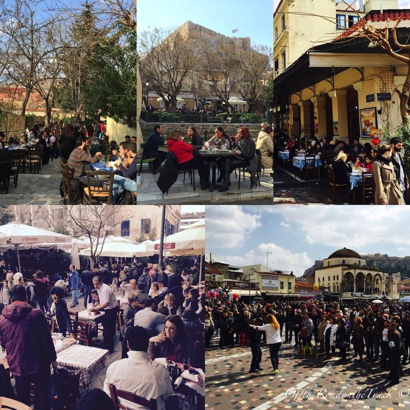Keyifli Atina sokakları