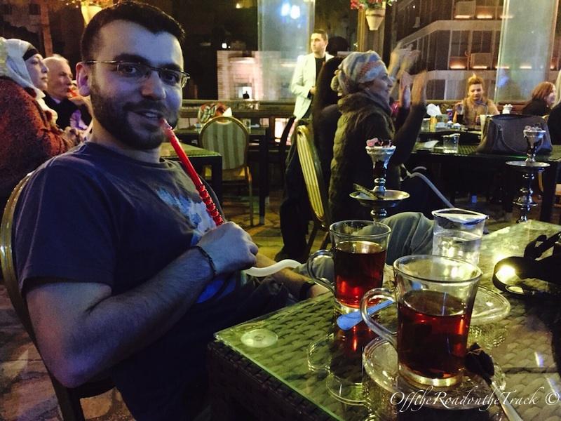 Ürdün'de Nargile Keyfi