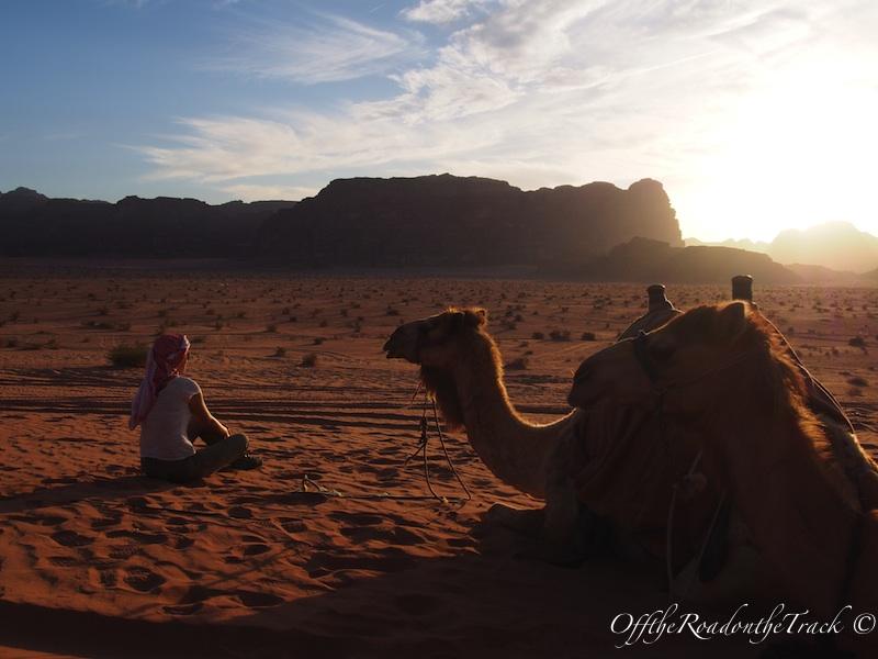 Wadi Rum'da Gün Batımı
