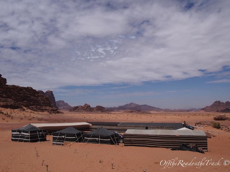 Wadi Rum'da kaldığımız Bedevi Çadırı