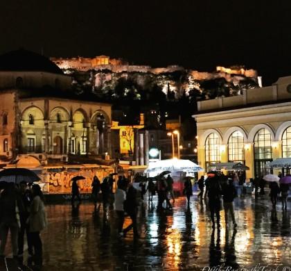 Atina Monastiraki Meydanı