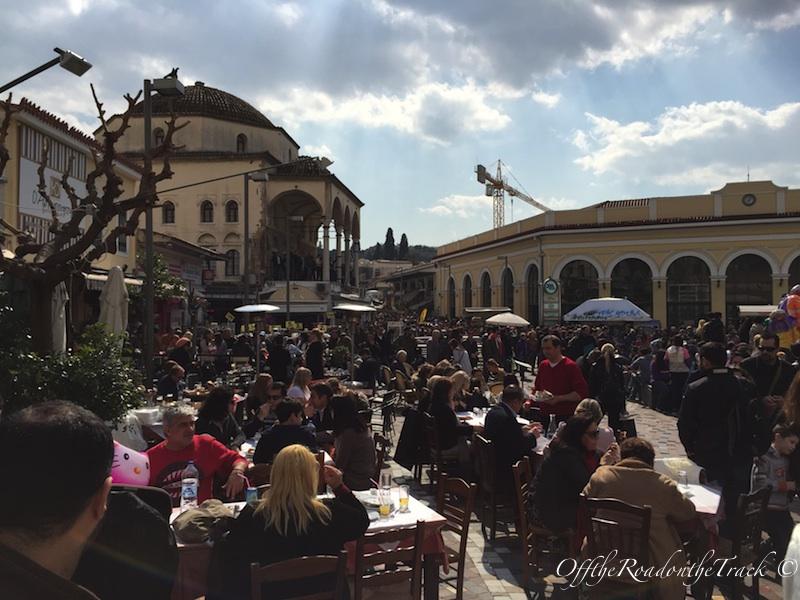 Monastiraki Meydanı