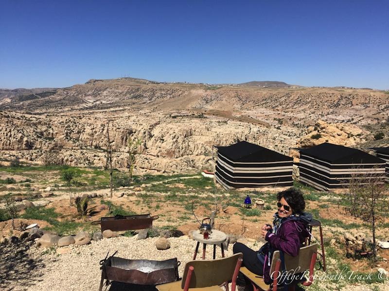 Dana'da kaldığımız Bedevi Kampı