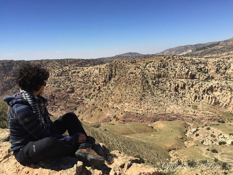 Bedevi Kampı'ndan manzaramız