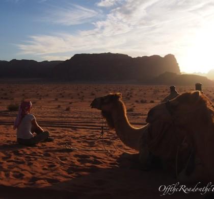 Wadi Rum - Çölde gün batımı