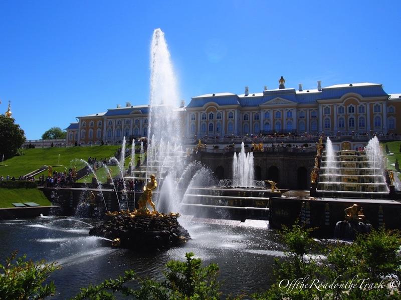 Çarın yazlık sarayı Peterhof