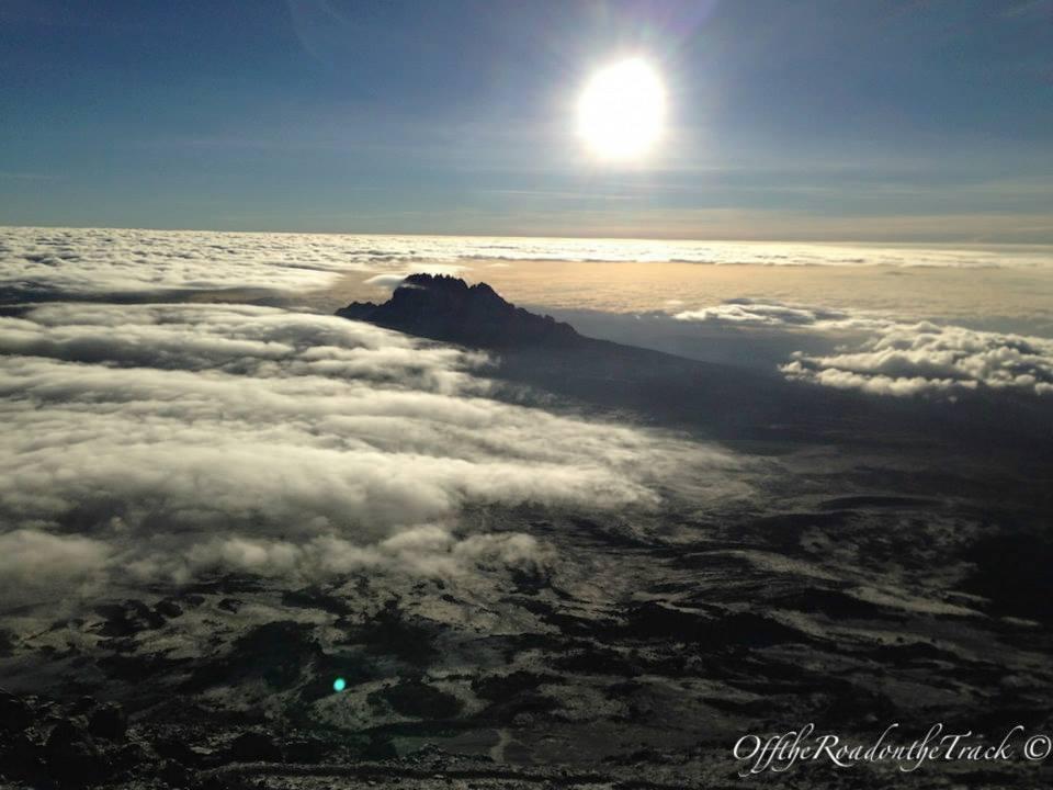 5.685 metrede gün doğumu