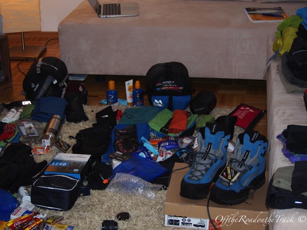 Kilimanjaro Öncesi Hazırlık - Evimizin Hali