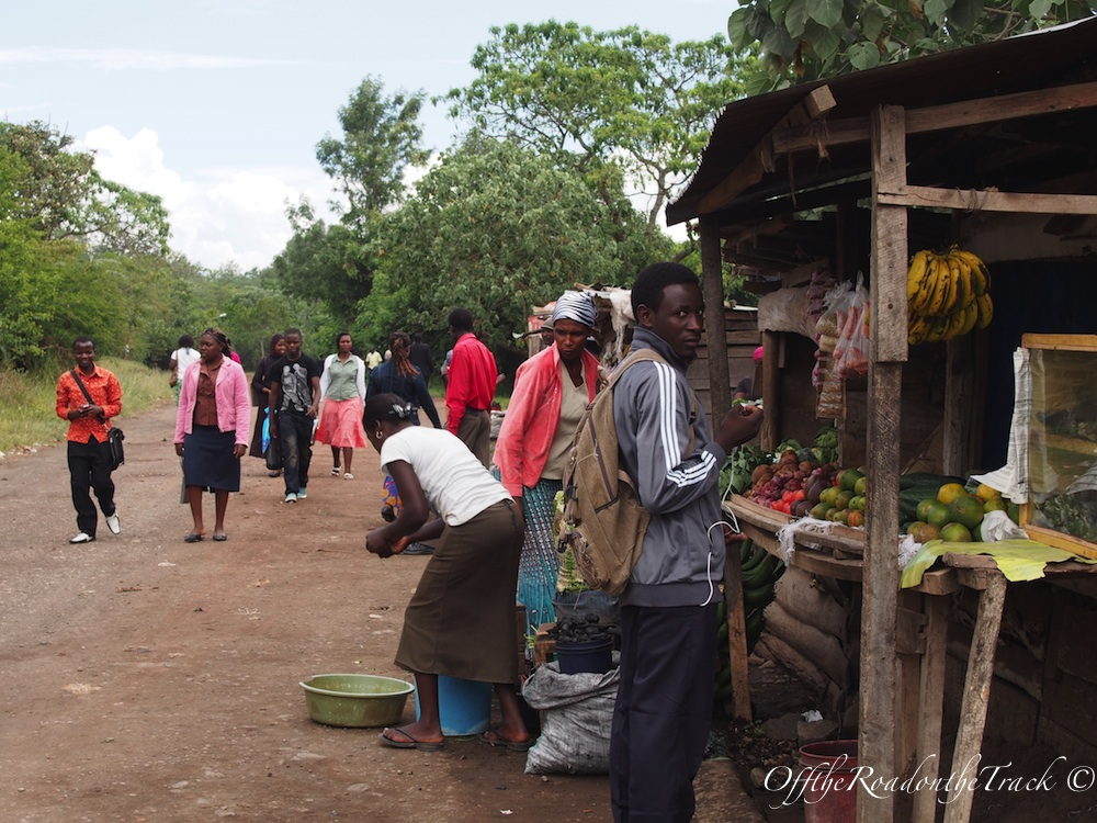 Arusha şehrinde sıradan bir gün