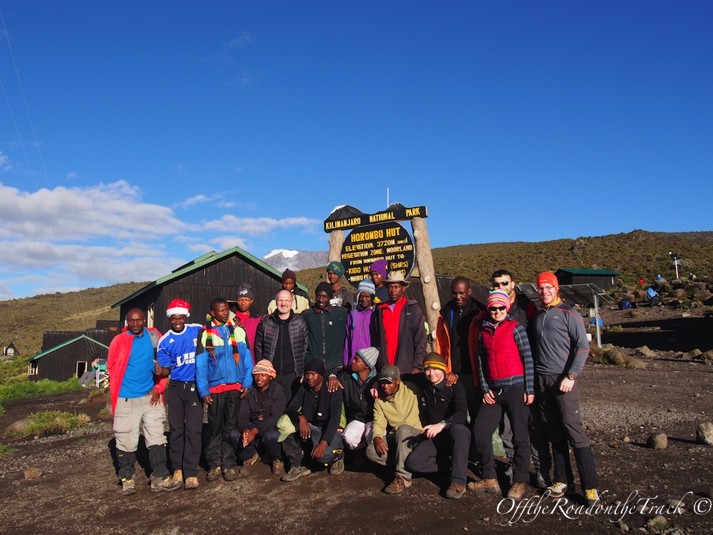 Kilimanjaro Yürüyüşü - Tüm ekip bir arada