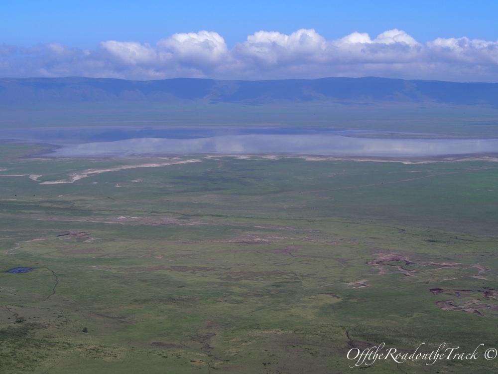 Kuşbakışı Ngorongoro Krateri