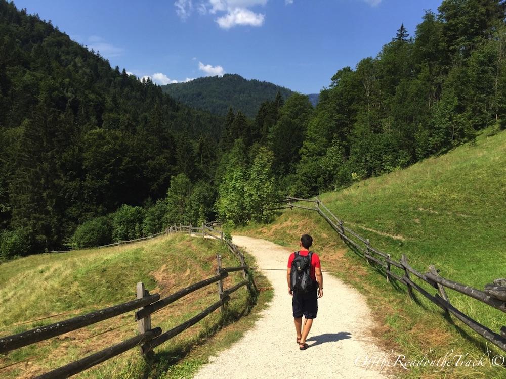 Weissbach Vadi Yürüyüşü - Yürüyüş başlangıcı
