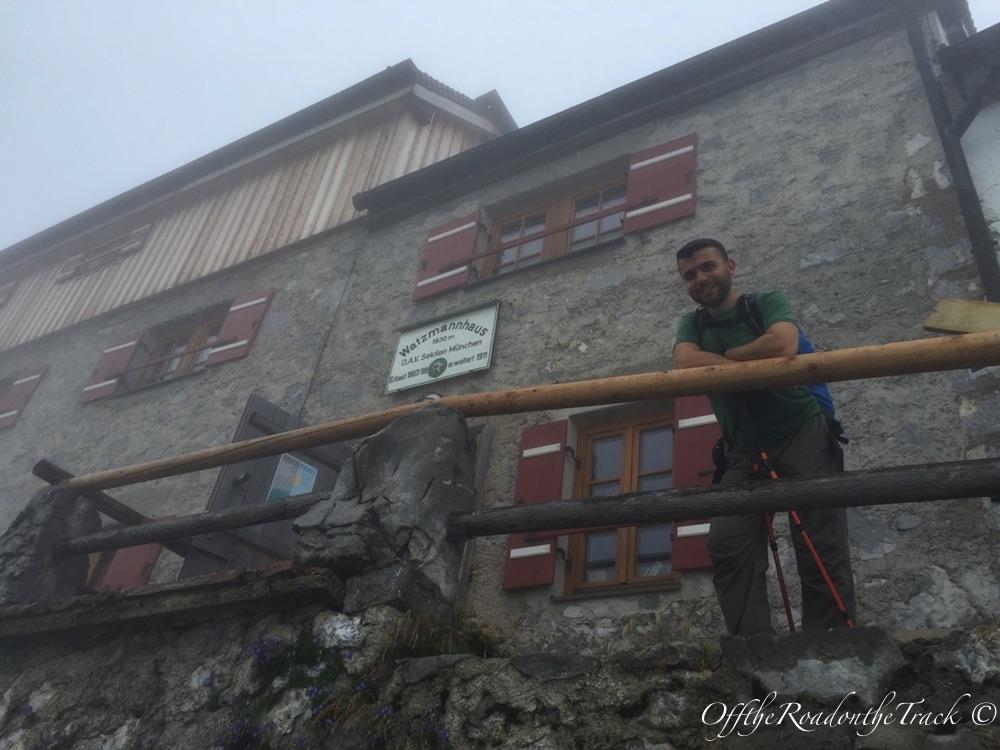 Watzmann Dağ Evi 1.930 metre