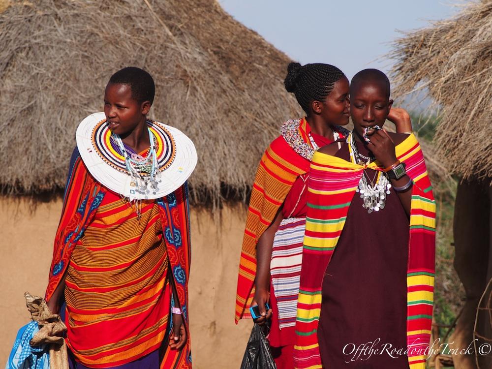 Masai kadınları…