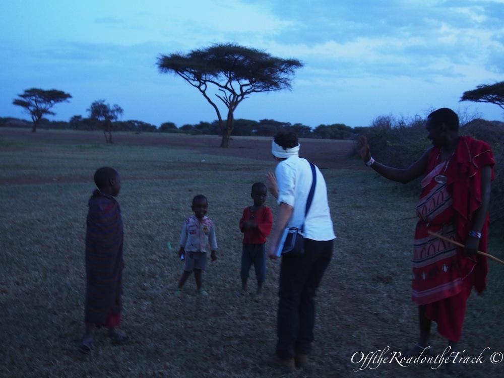 Küçük Masailerle vedalaşırken…
