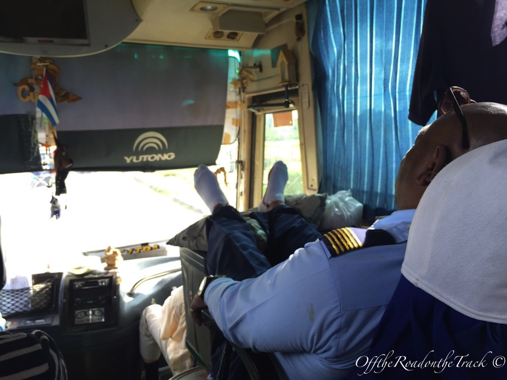Trinidad - Camagüey otobüs yolculuğu