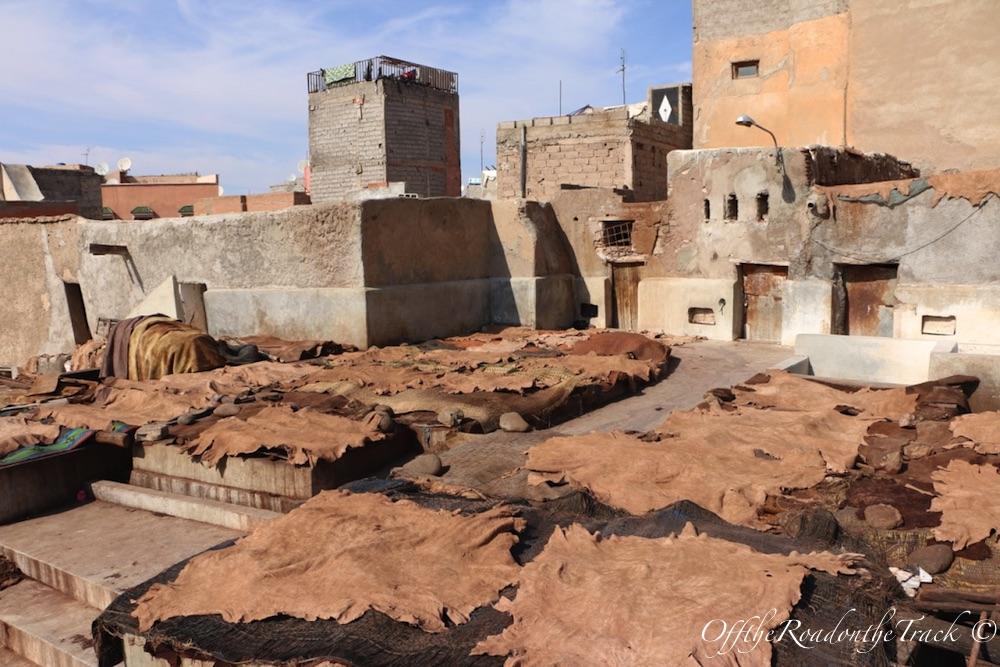 Marrakeş Deri Tabakhaneleri