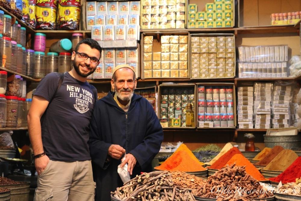 Fes'in ünlü baharatçısı Hassan Graoul ve Fatih