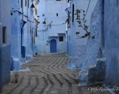 FAS'ta 6. ve Son Durak: Mavi Boncuk bir Şehir Chefchaouene