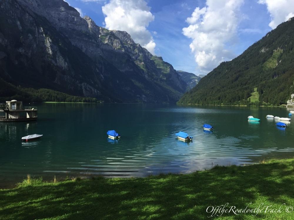 İsviçre - Klöntaler Gölü