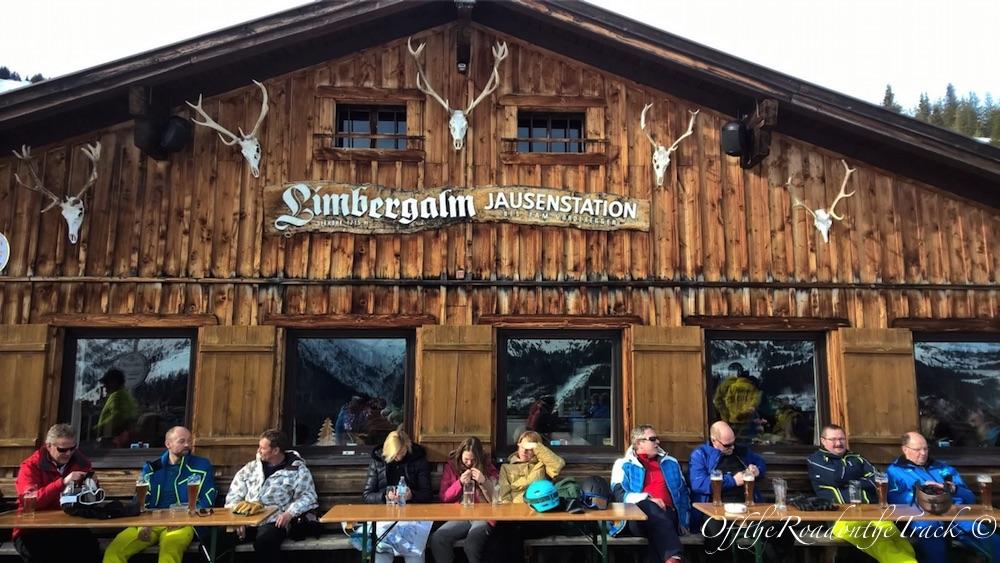 Saalbach'da Kayak