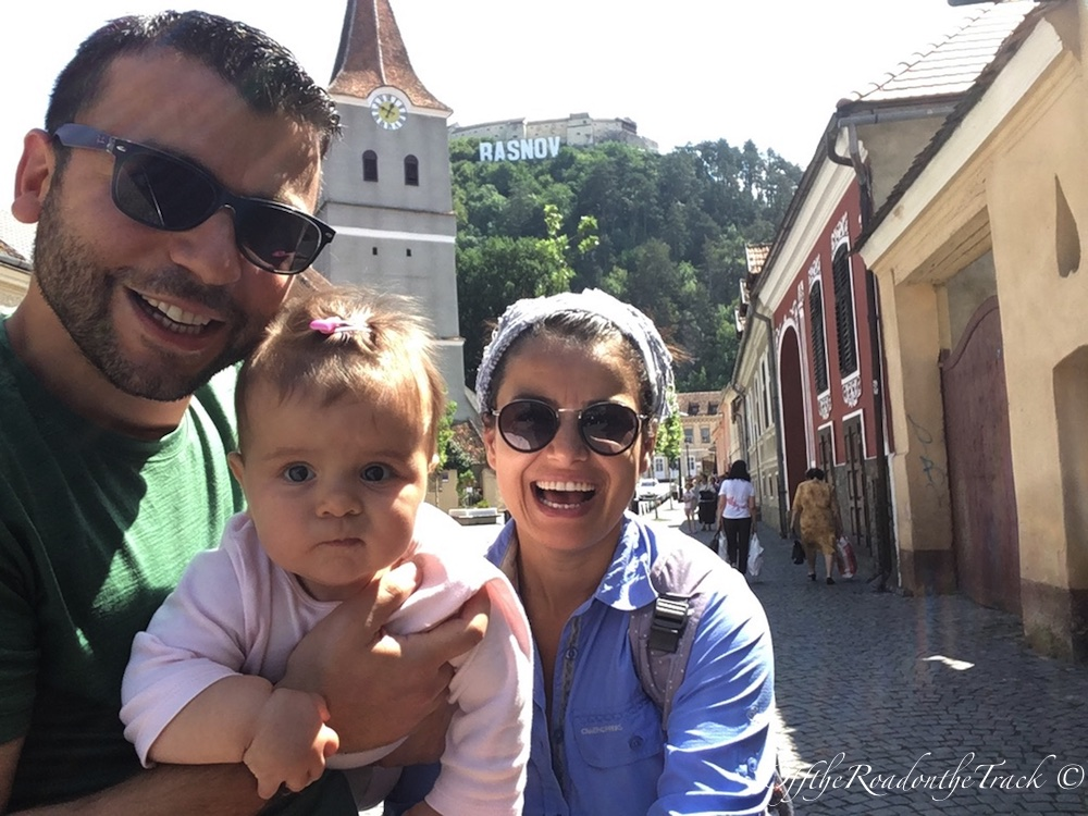 RASNOV / Romanya - Ağustos 2018
