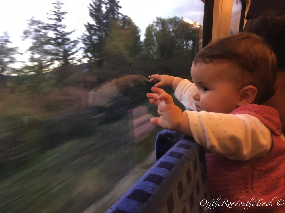 Bavyera'da trenle yolculuk