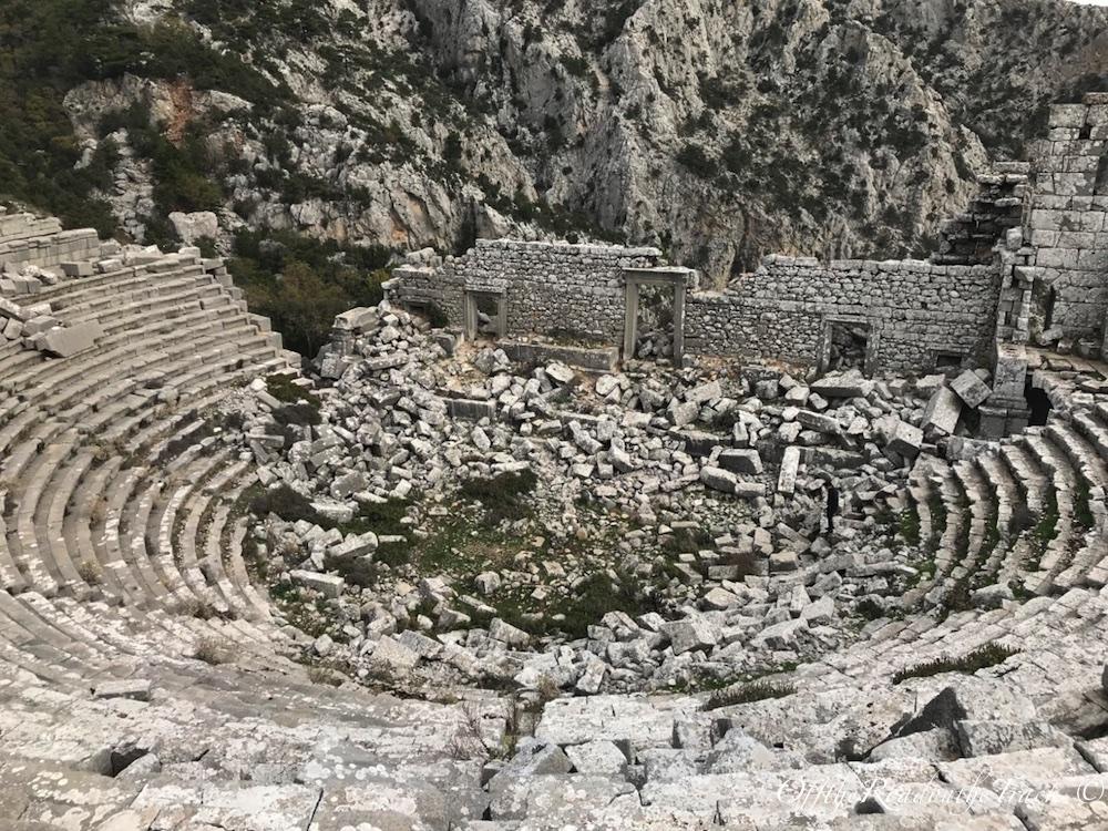 Büyük İskender'in alamadığı şehir: Termessos