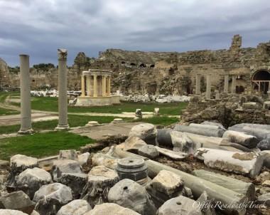 SİDE: Antalya'da güneşin tarih üzerinde battığı yer