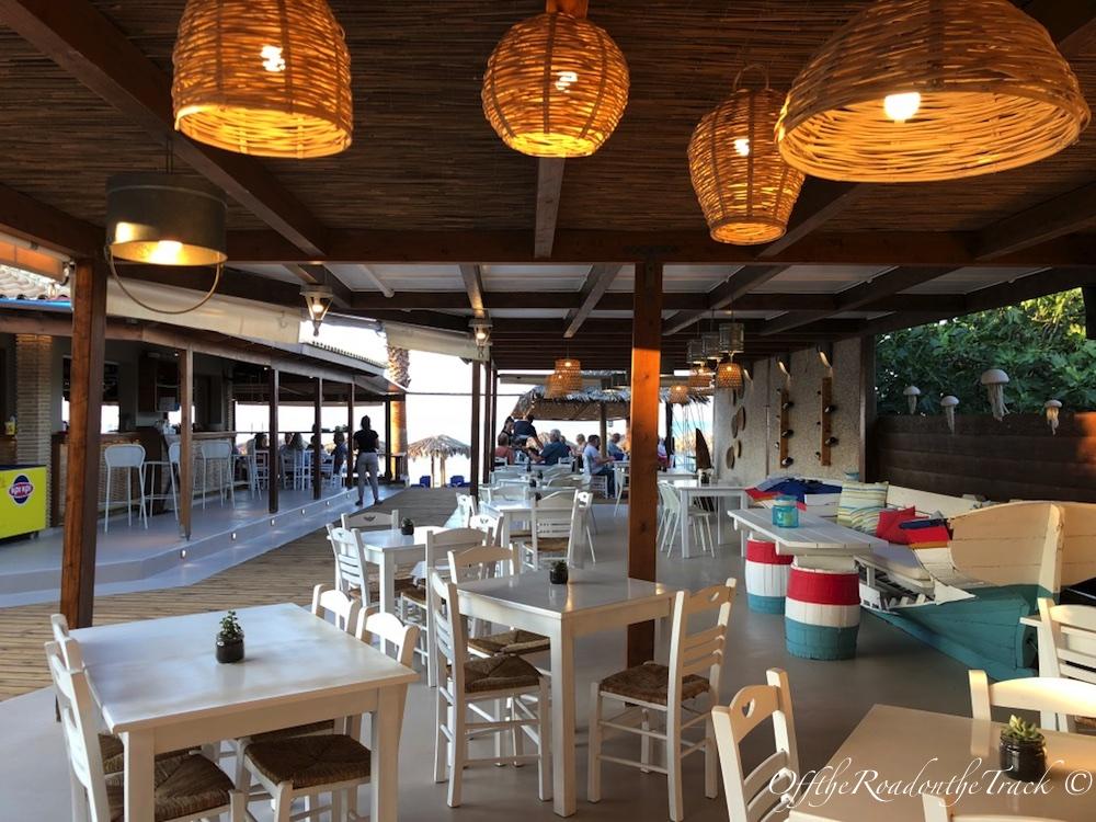 Fishalida Restoran Bölümü