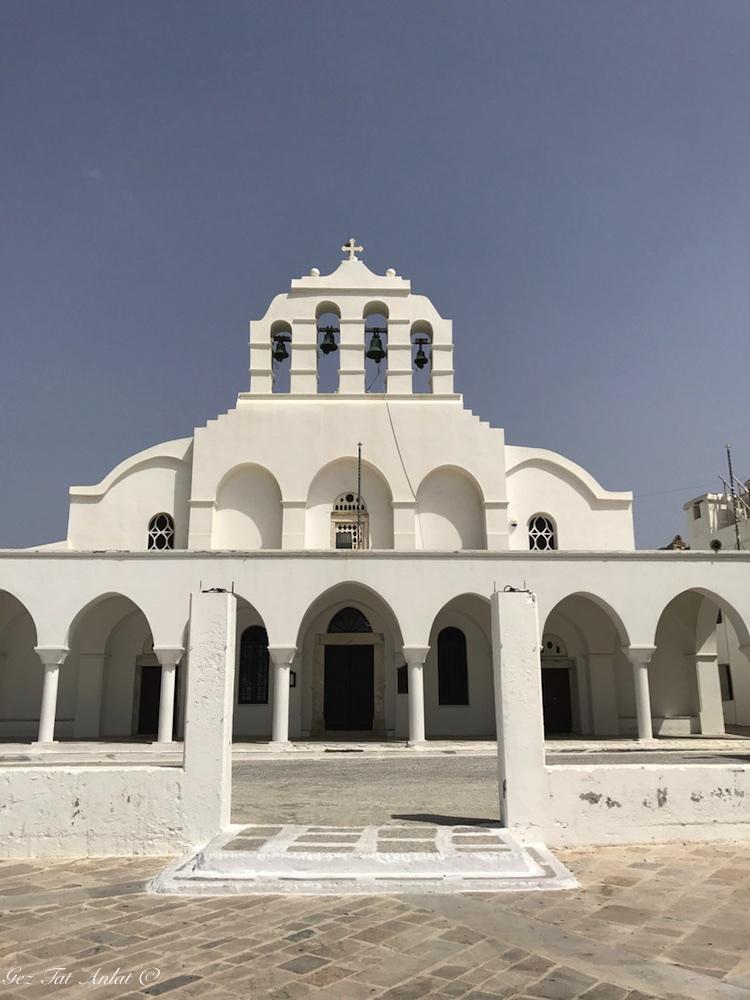 Naxos eski şehir